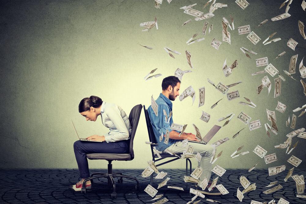 Nejčastější forma nepřímé diskriminace jsou rozdílné platy